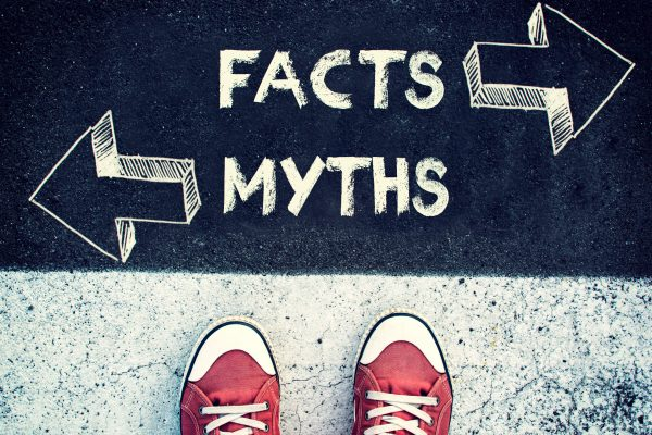 Facts and myths sign